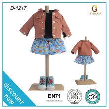 Usado de las muchachas ropa / airsofts accesorios / 18 pulgadas de la muñeca ropa