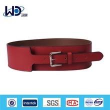 Bright red fashion women waist belt