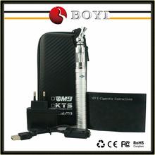 Updated x6 electronical cigarette variable voltage e cigarette 1600mah, X6 V2 vaporizer replacement coil e-cigarette