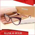 Cat Eye Glasses Frames VMU01 Acetate Reading Glasses Women Brand Designer Eyeglass Frame