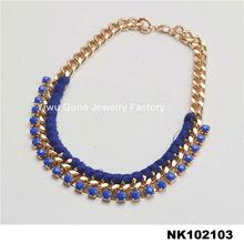 Wholesale Jewelry Fashion, Jewelry Designs, Blue Pendant Diamond Necklaces