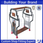 shot glass display rack,show counters,show display stand