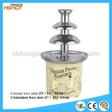 HT-801 HOTselling Electrics Mini Chocolate Fondue Fountain