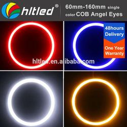 factory price universal cob led halo ring full circle and semi-circle cob led angel eyes kit