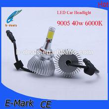 2300lm 40W COB headlight 9005 car led headlight