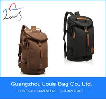 Chinese manufacturer canvas backpack vintage canvas backpack Korean fashion backpack