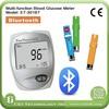 CE ISO Bluetooth 3 in 1 Digital Blood Sugar Testing Medical equipment