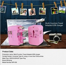 Newest innovation Design 2.1A Travel Adapter