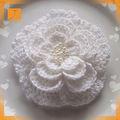China fornecedor natal de tecido decorativo personalizado artificiais Crochet flores de algodão no Alibaba