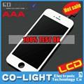 Big desconto big!! Top item de venda para o iphone da apple 5s qualidade superior de vidro, para o iphone 5s lcd digitador