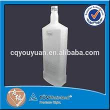 1000 ml frosted glass bottles for vodka