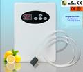 Portátil mini generador de ozono para el agua/bien de aire treament de limpieza y vegtables 2014 por caliente de la venta