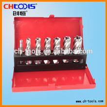 HSS broach cutter set with iron box 2014