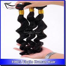 2014 Christmas 6A grade natural color Best Vendors Unprocessed Brazillian Hair
