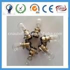 T19 tip flat wire auto lamp Halogen bulb