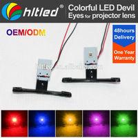 led devil eye projector headlight /mini projector lens led devil eyes