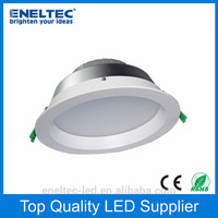 High brightness factory price 2014 new product 5inch recessed led downlight 12w