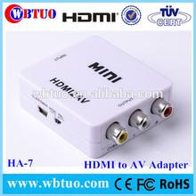 Chinese Supplier 1.4 HDMI To AV RCA Video Converter