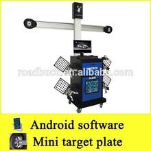 Road Buck Mini target plate R500 3d wheel alignment and balancing machine/wheel alignment turn plate