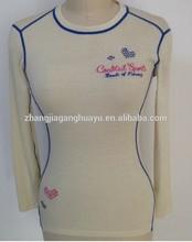 100% superfine merino wool knitted womens thermal sexy underwear sportswear