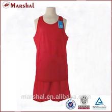 Double mesh reversible basketball uniform kits top quality basketball singlets
