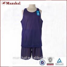 Basketball singlets double mesh basketball jerseys reversible