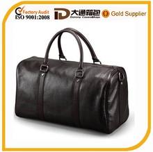 fancy waterproof leather travel bag