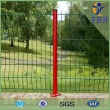 Hot dip galvanized & pvc coated beautiful decorative short metal garden fence