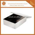 201 açoinoxidável caixa