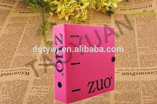 TaoYuan stationery supply plastic file folder, 3 ring binder