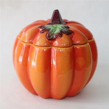 Halloween Ceramic Pumpkin Decoration