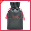 Custom Sample Gift Drawstring Bag With Stain Ribbon Closure