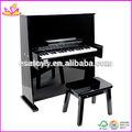 الدمية الخشبية البيانو 2015 جديدة، لعبة العزف على البيانو الخشبي شعبية، حار بيع w07c017 الدمية الخشبية البيانو