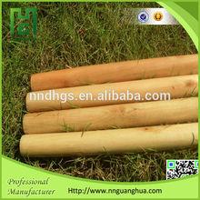 Chinese 110cm/120cm length broom stick varnish, brown natural sticks