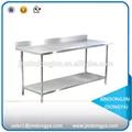 Wtc-142b chine. boulangerie en acier inoxydable tables