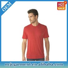 Wholesale High Quality Mens Plain Fashion Fit Blank Tri Blend T shirts