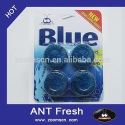oxygon blue fast acting deep cleaning Toilet Cleaner Freshener Tablet bathroom freshener