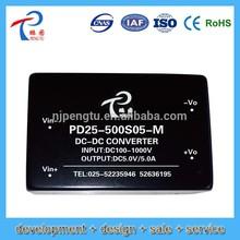 PD-M Series 5-25W DC/DC solar pv Power Supply module