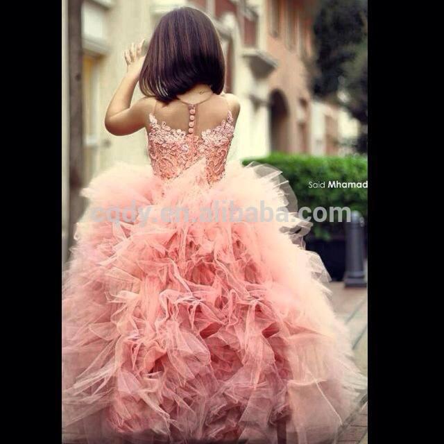 princesse de demoiselle dhonneur de mariage robes / filles tutu robe ...