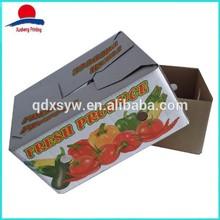 Ecofriendly Custom Cardboard Box Vegetable Fruit