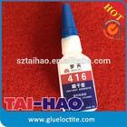 Cyanoacrylate adhesive instant glue, Instant Glue 416 quality, Surface insensitive instant adhesive