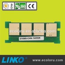 MLT-D108S toner cartridge chips 108 for Samsung ml-1640K 1641K 1642K 2240K 2241K