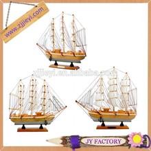 bán buôn gỗ đồ trang trí mô hình trang trí bằng gỗ tàu thuyền đồ chơi