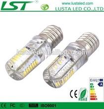 LED E14 Light AC DC12V 24V 3W E14 LED Lamp SMD 3014 Silicone 110V 220V E14 LED Bulb