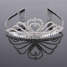 Wholesale Bridal Wedding Tiara beauty queen diamond pageant crown