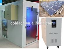 Cold room deep freezer solar power