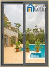 Aluminum doors and windows construction supply