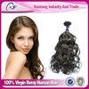 fashion style top quality brazilian human hair extension wholesale human hair extension