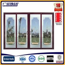 Personalizado de alta qualidade de alumínio decorativa moldura da porta