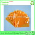 simples e útil de pvc transparente botão comércio de embalagens de cartão